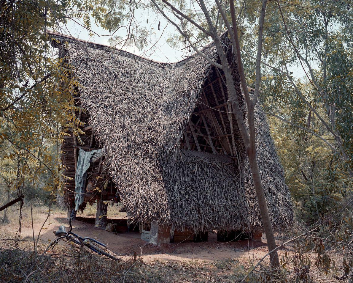 Cabaña de estilo tamil