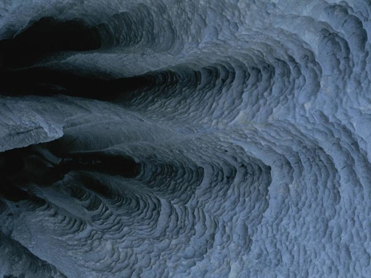 Cueva en la Patagonia