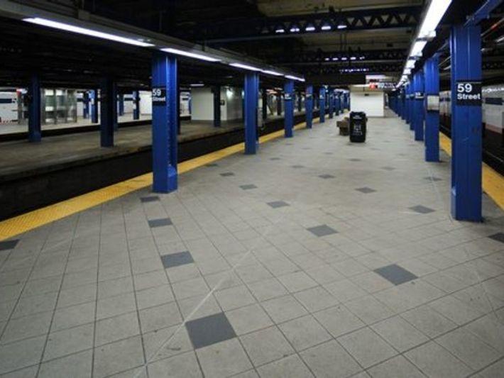 Trenes vacíos