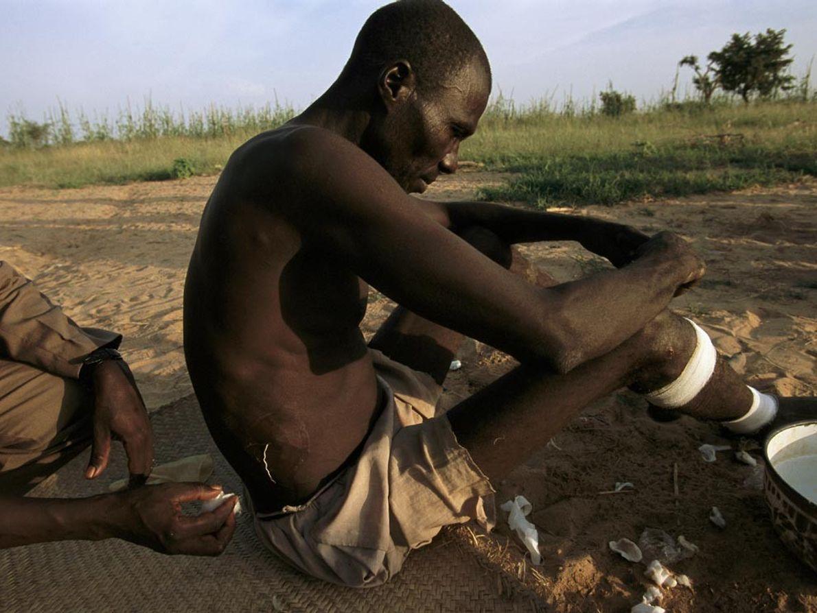 Un agricultor en Níger