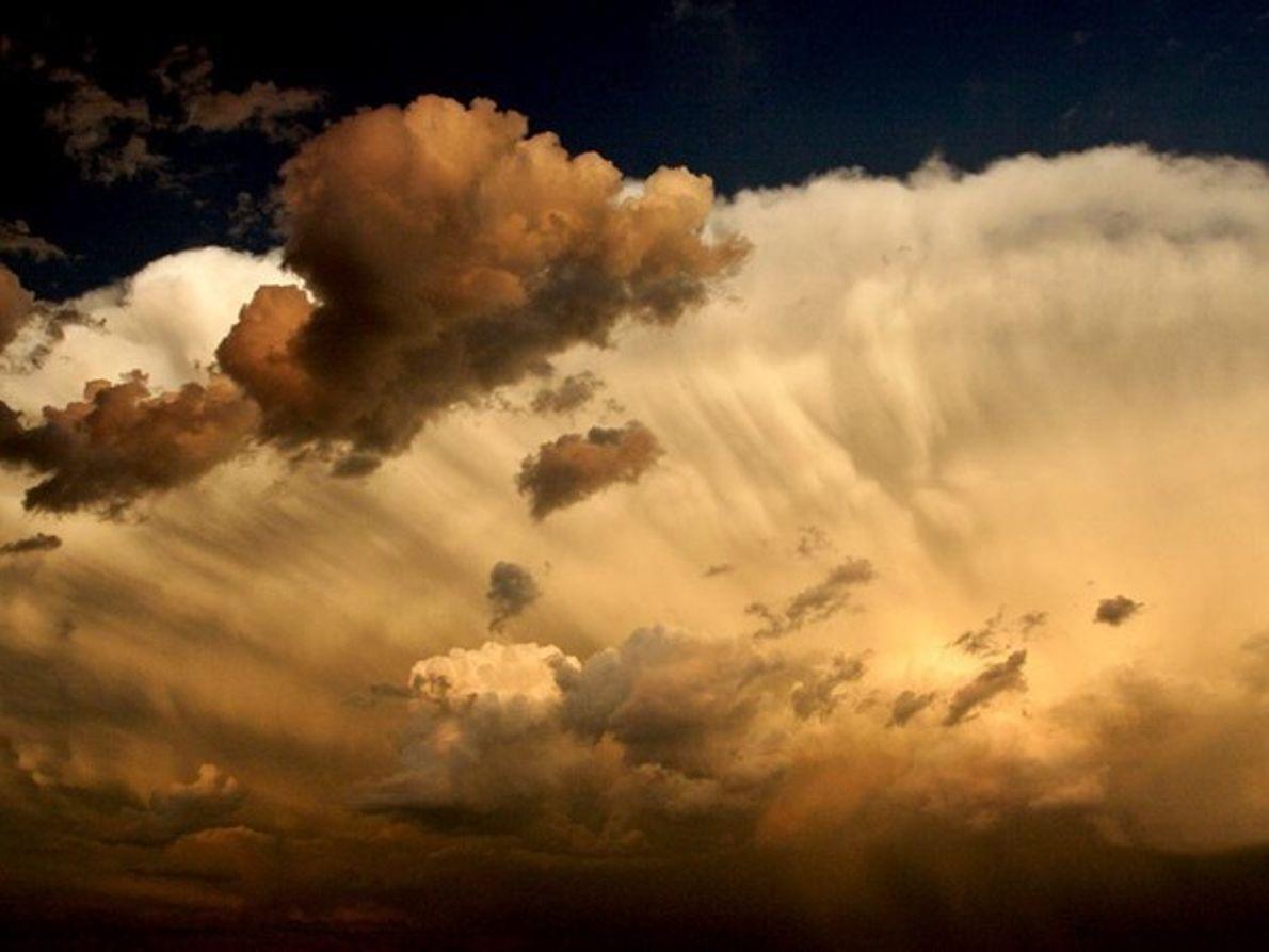 Nubes de tormenta en Saskatchewan