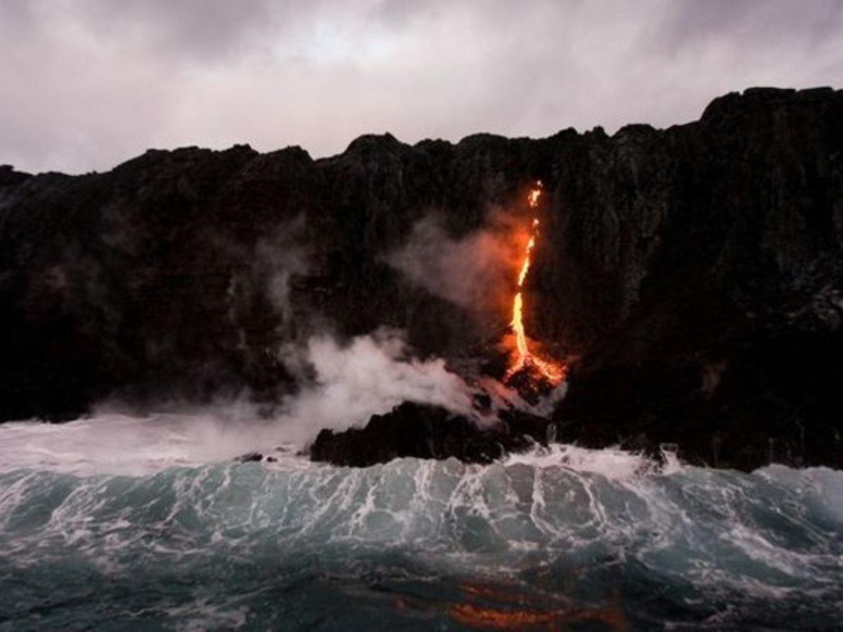 Mar de fuego