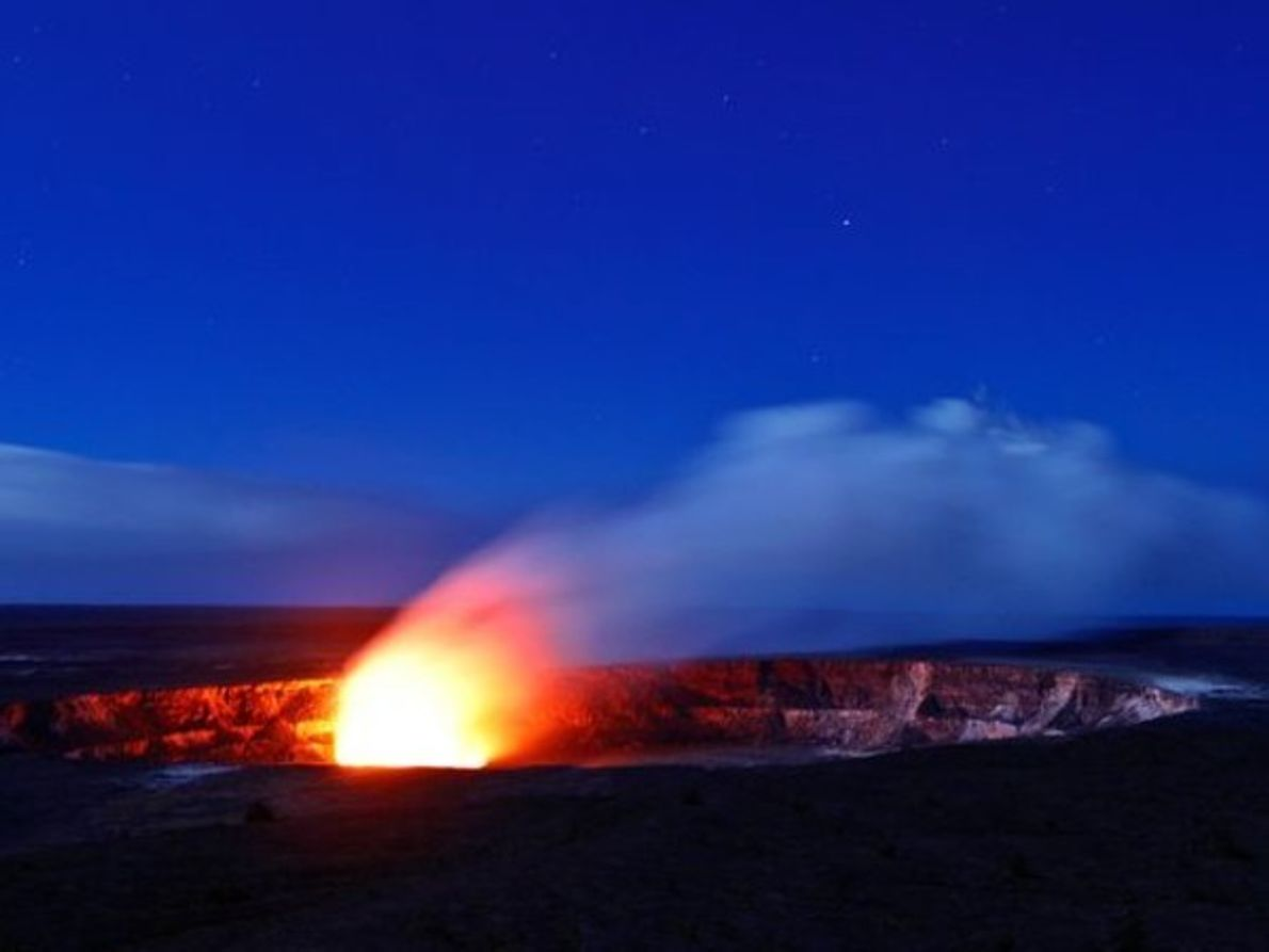 Llama volcánica