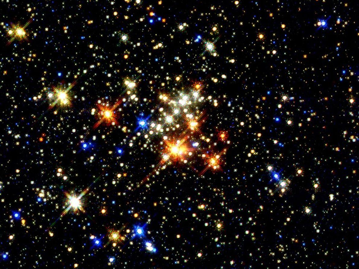 cúmulo estelar de los Quintillizos