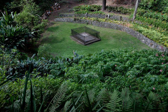 Lugar de entierro de Bonaparte