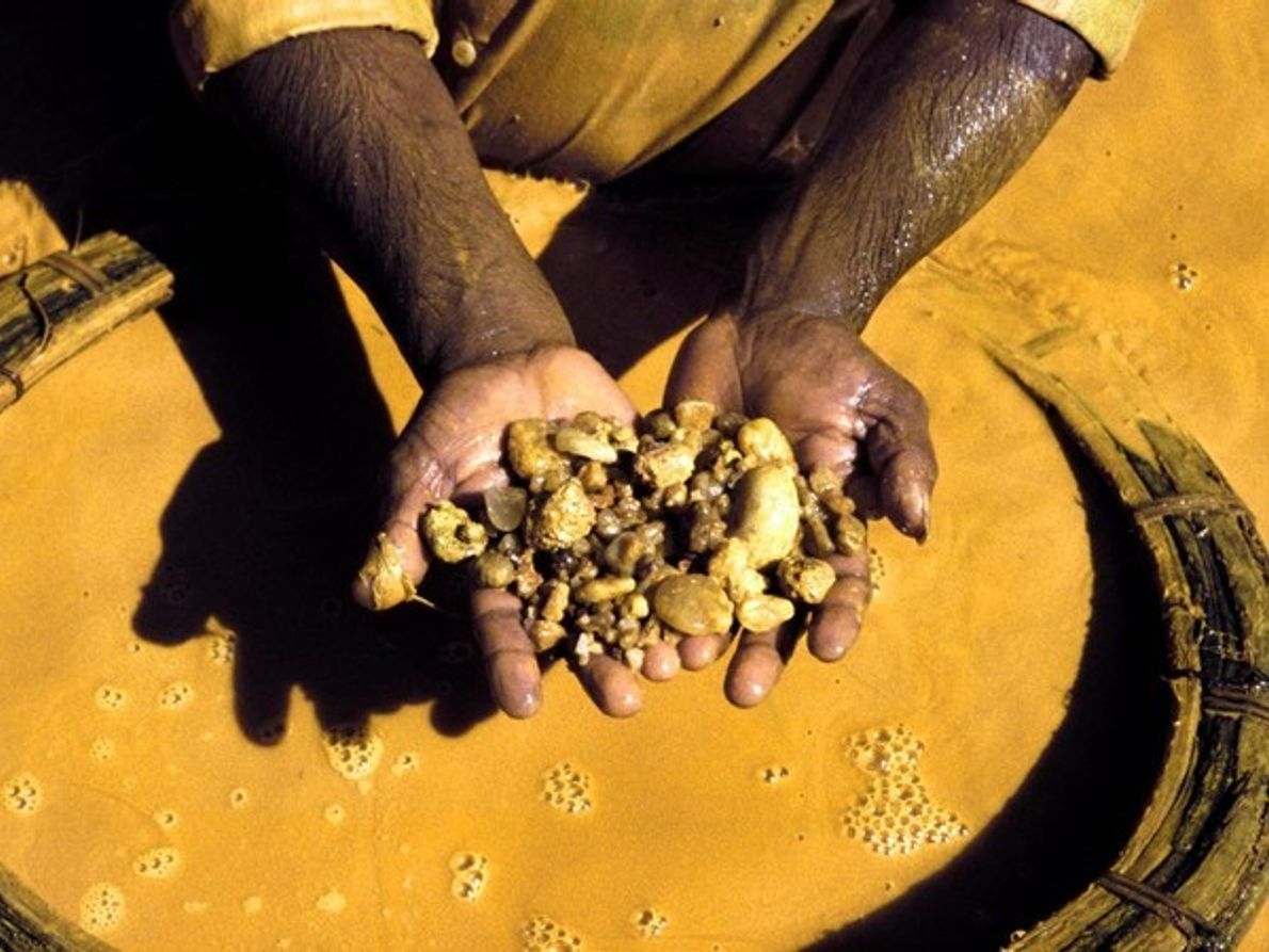Extracción de gemas