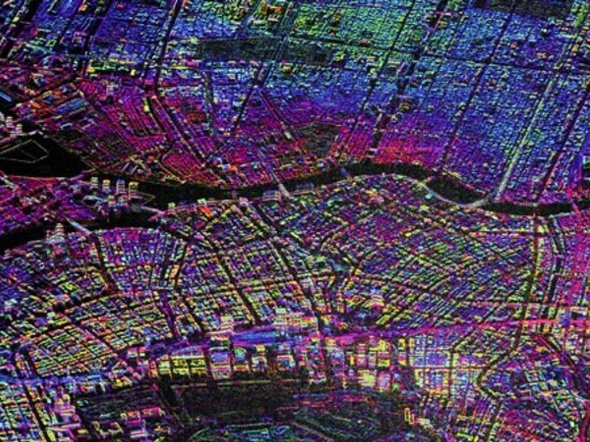 Tokio desde el espacio