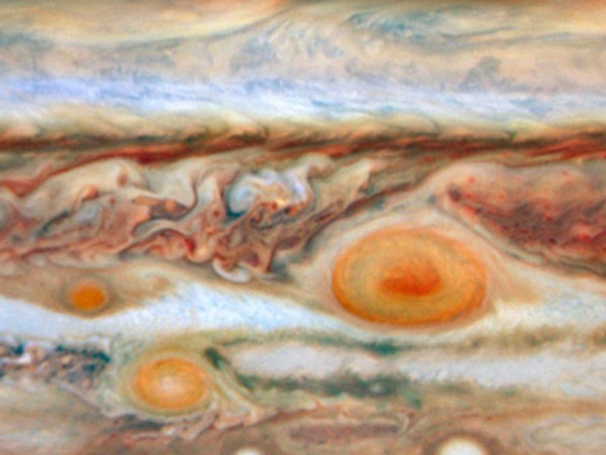 Una nueva mancha roja en Júpiter