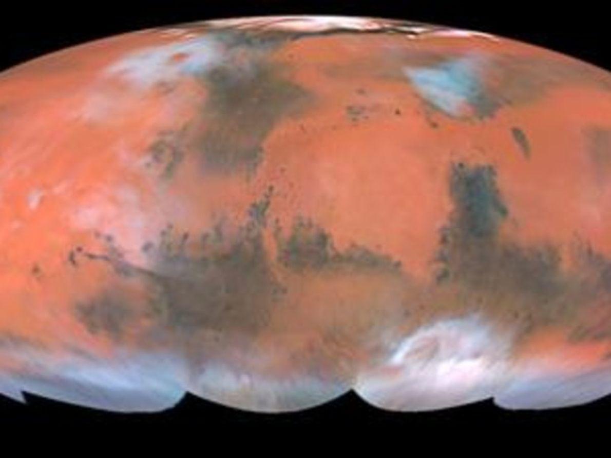 Mapa global de Marte