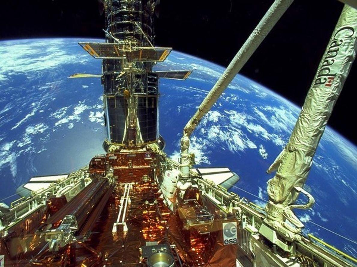 El Hubble y el Endeavour ...