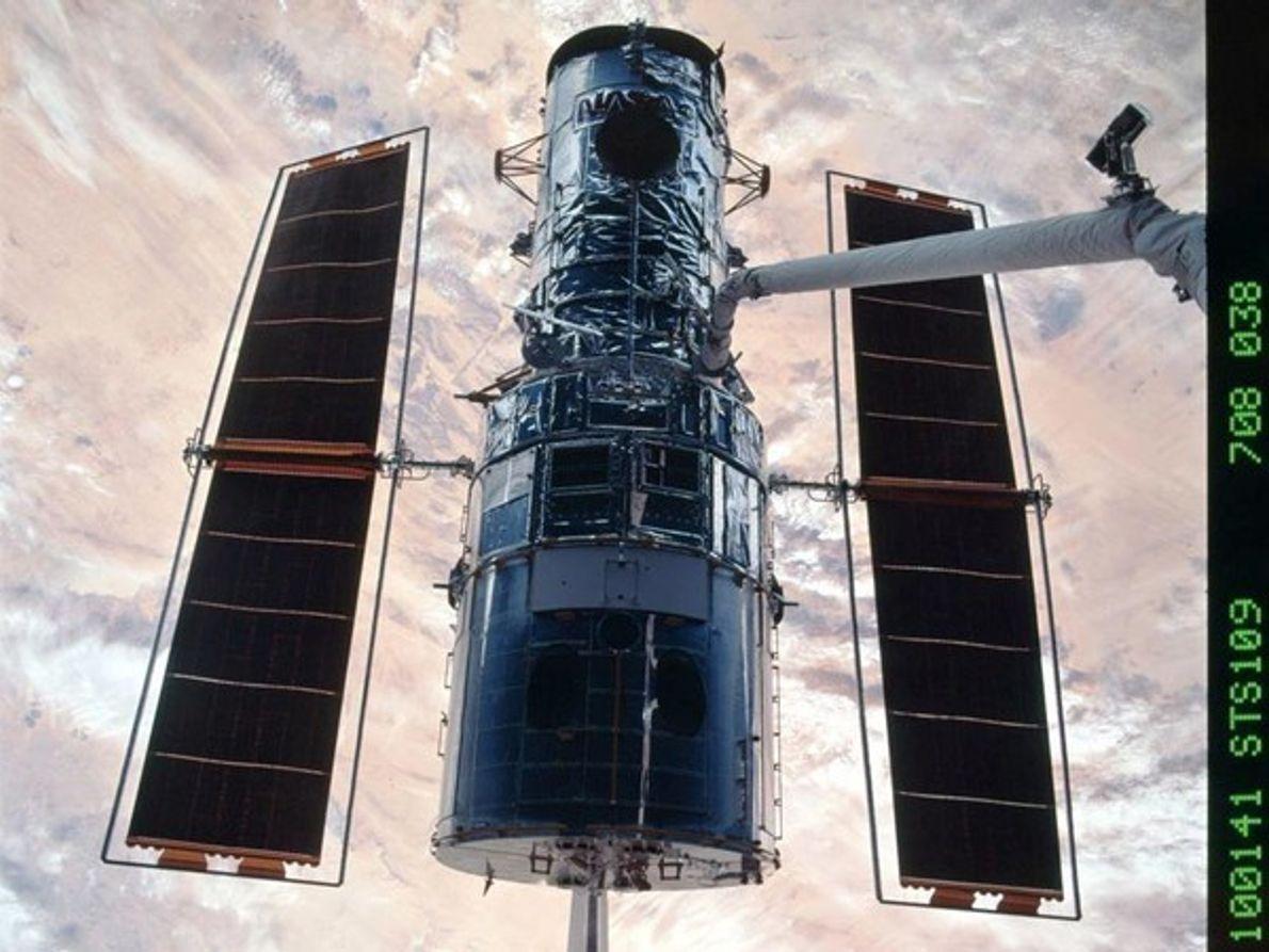 El Hubble y la Tierra