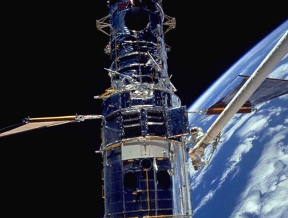 Primera misión de mantenimiento del Hubble
