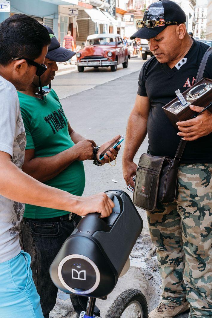 Altavoz en la Habana