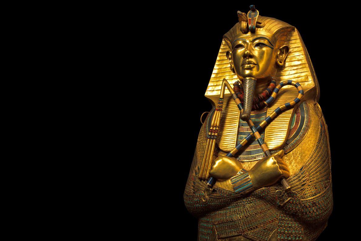 Máscara mortuoria de Tutankamón
