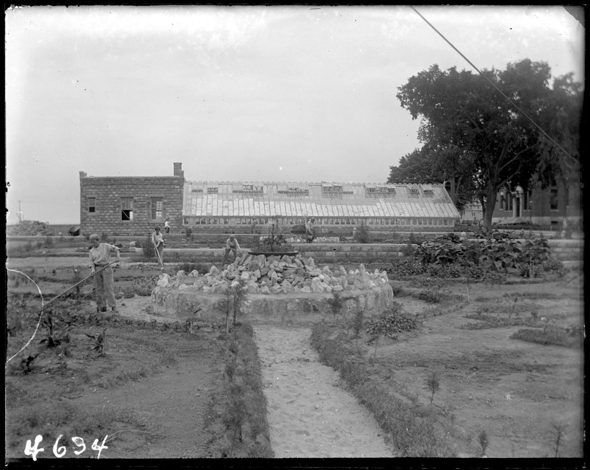 Reformatorio, Isla Hart