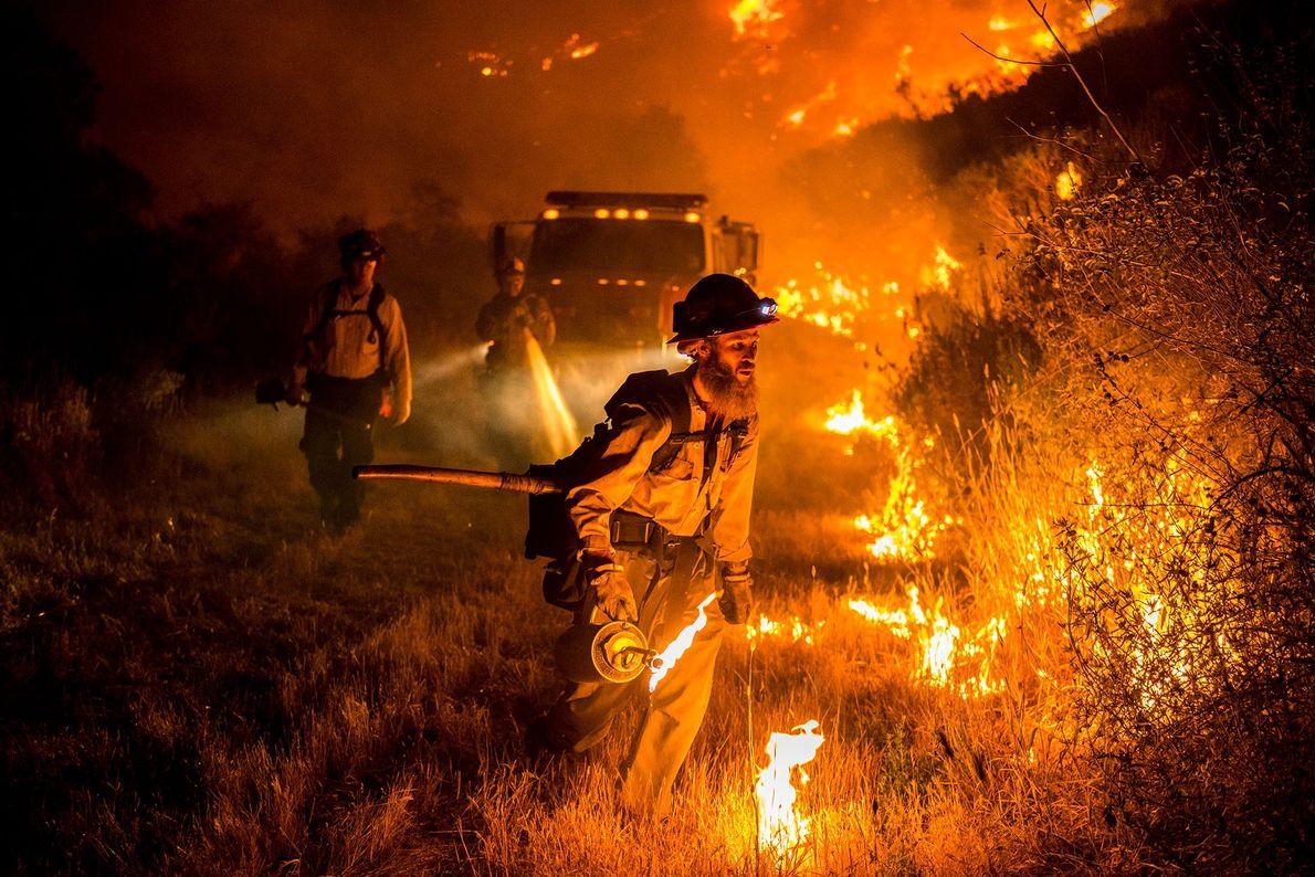 Incendio en Santa Ynez