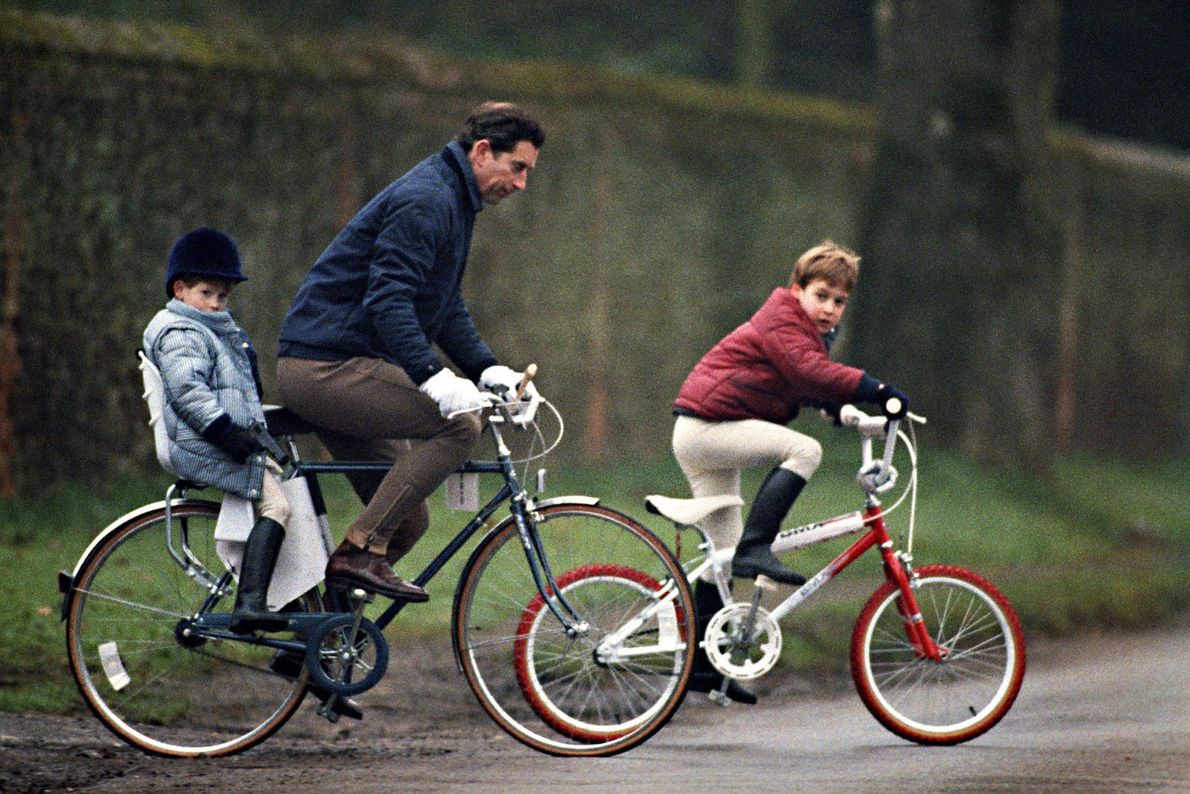 El príncipe Carlos y sus hijos