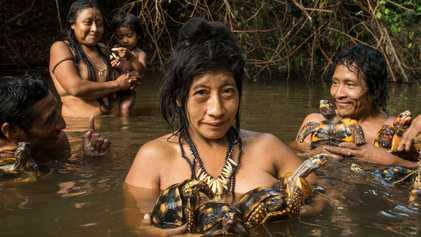 Retratos íntimos de las comunidades indígenas de la Amazonia