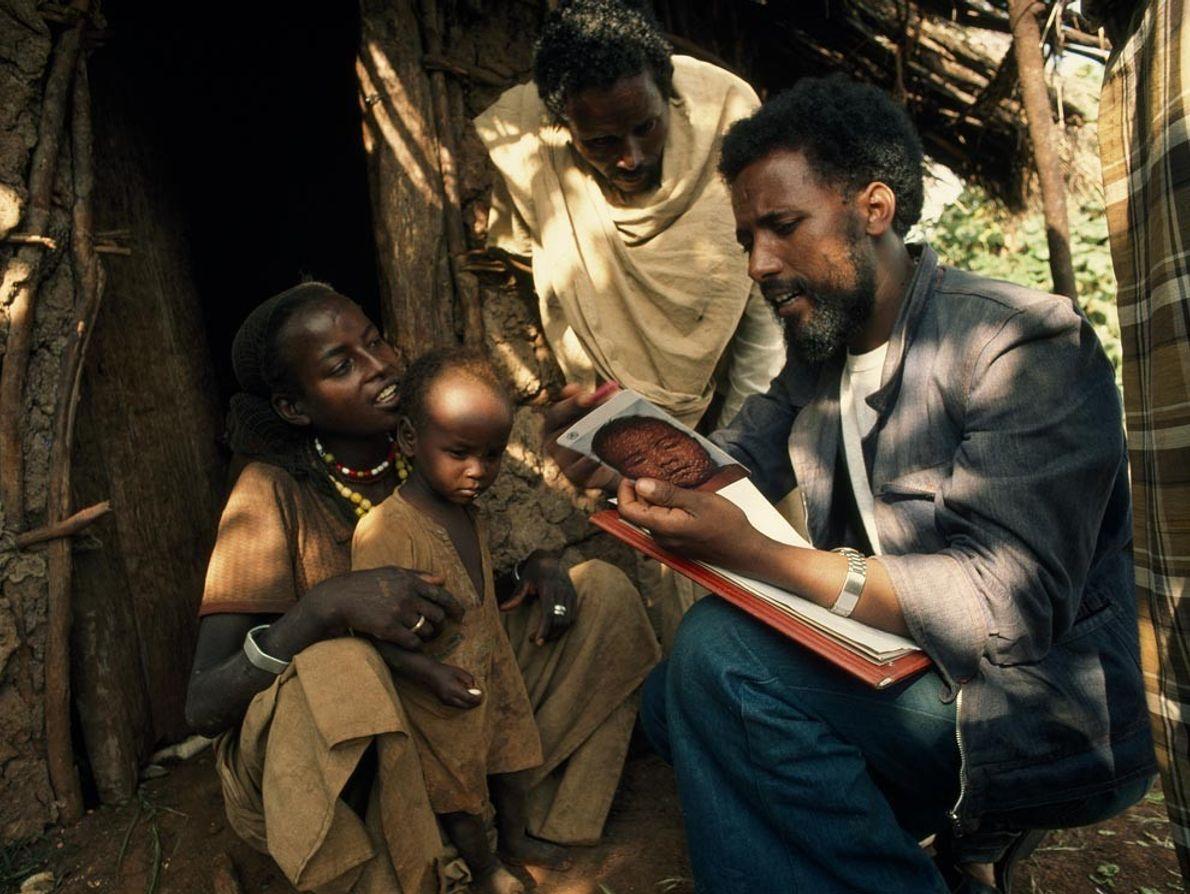 Un médico etíope