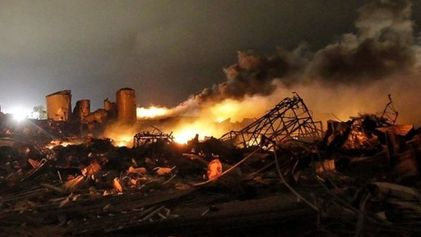 La explosión de Texas