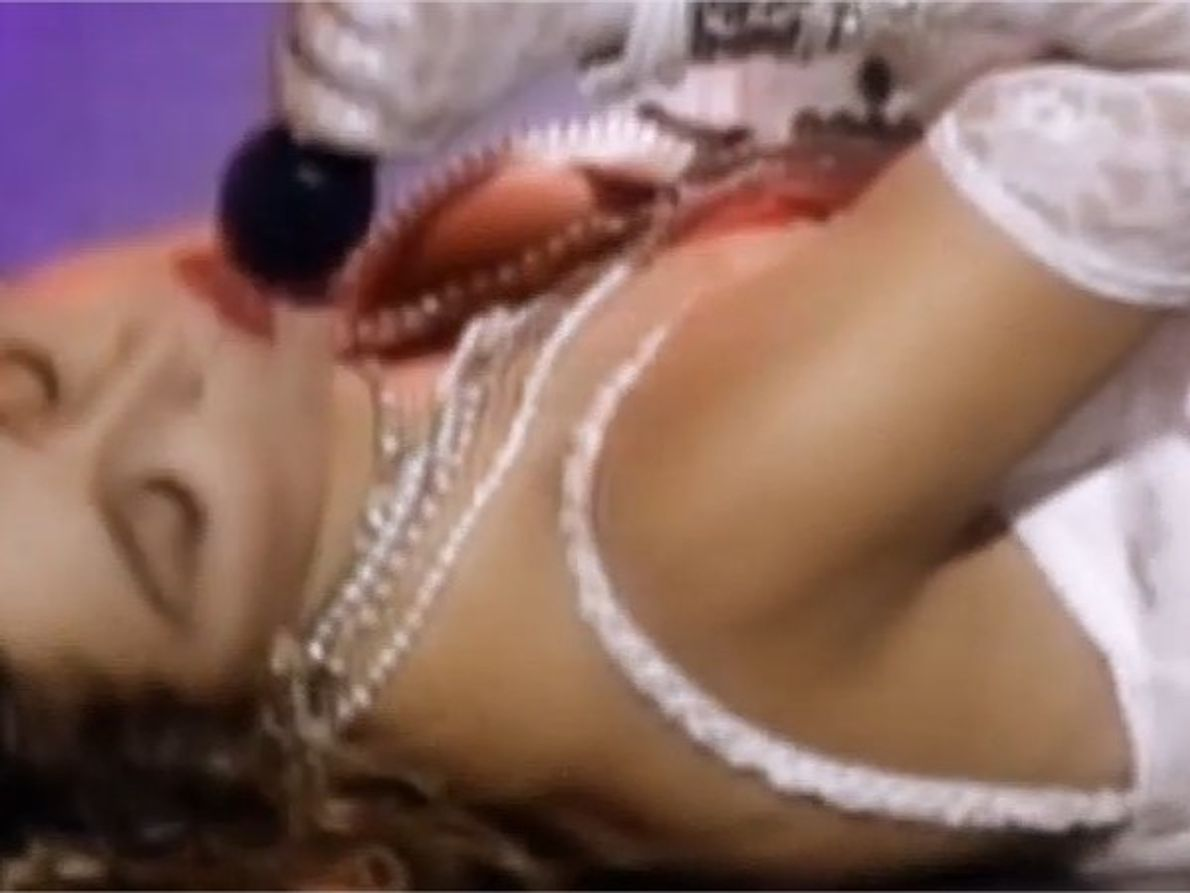 Inicialmente, Madonna había pedido actuar en la MTV junto a un tigre de bengala.