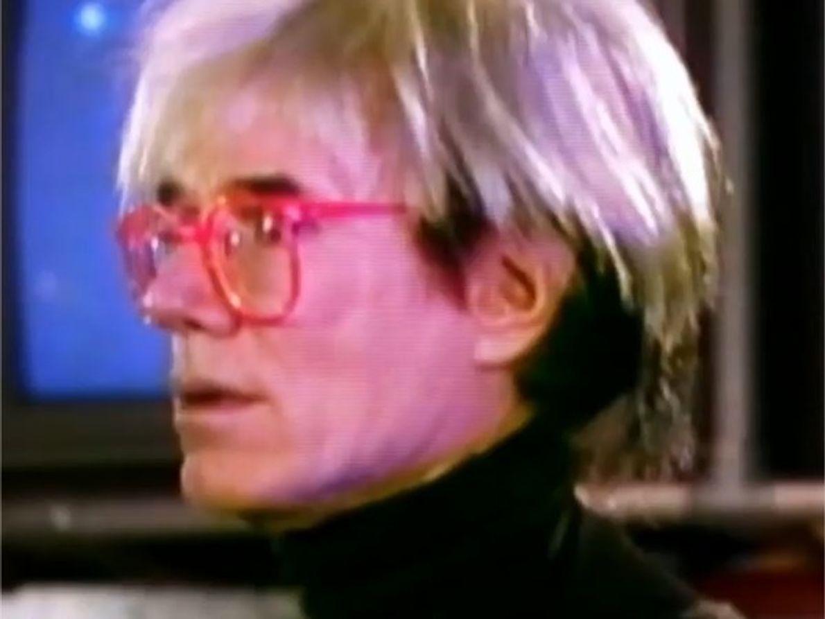Andy Warhol, un icono del arte de todos los tiempos también fue fan de Madonna.