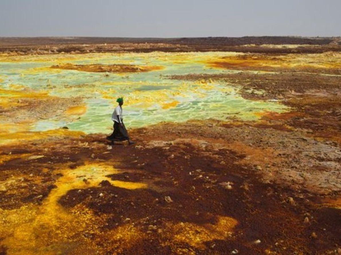 MINAS DE SAL EN ETIOPÍA