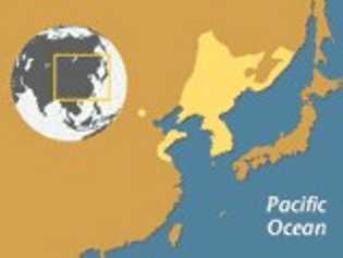 Mapa Sapo de Vientre de fuego oriental