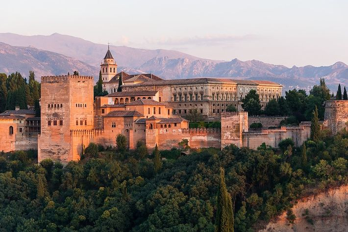 Europa desde el cielo Alhambra Granada