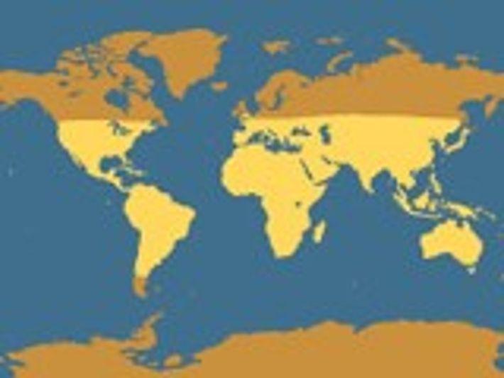 Distribución geográfica del escorpión