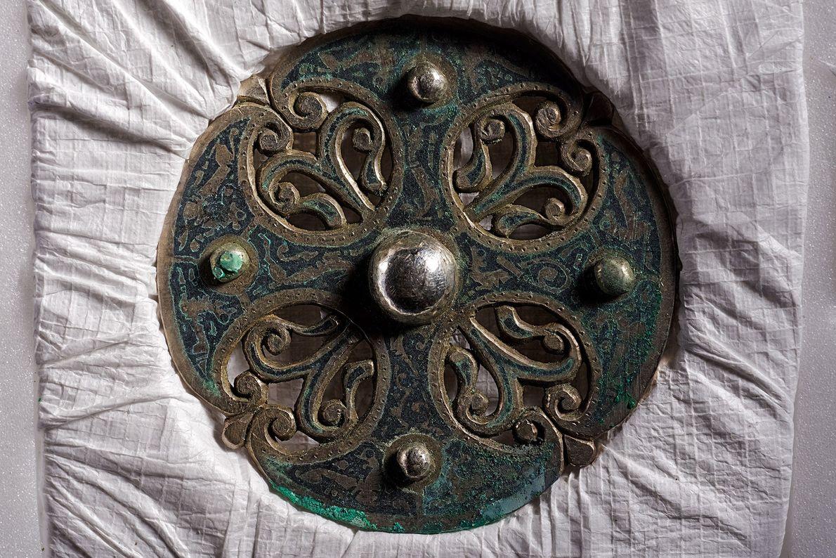 Imagen de un broche de plata