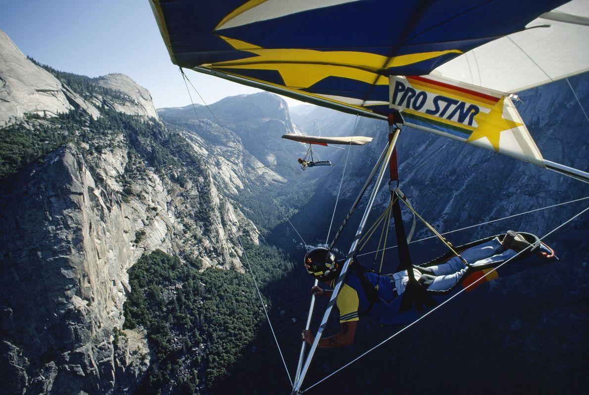 Parapente en Yosemite