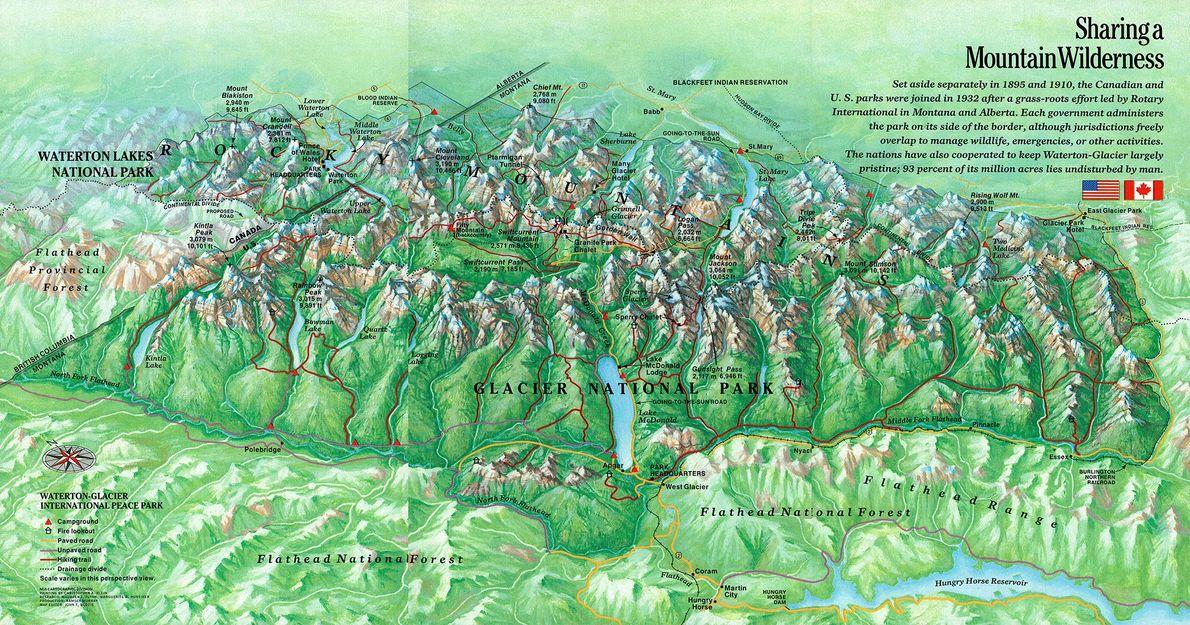 Parque nacional de los Glaciares, 1987
