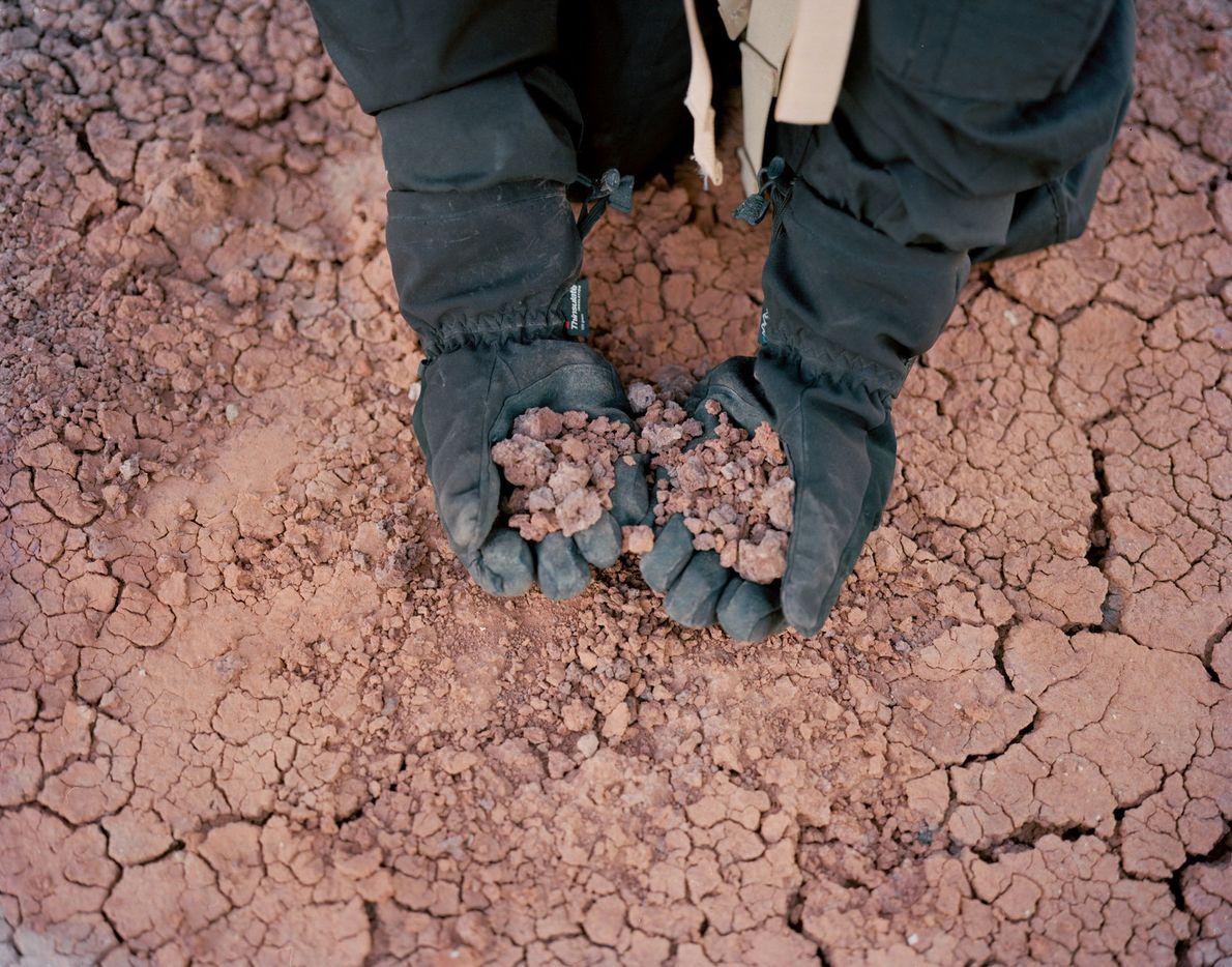 El suelo desértico