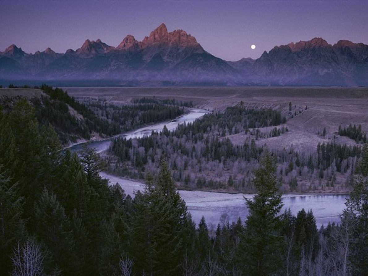 Río Serpiente, Wyoming