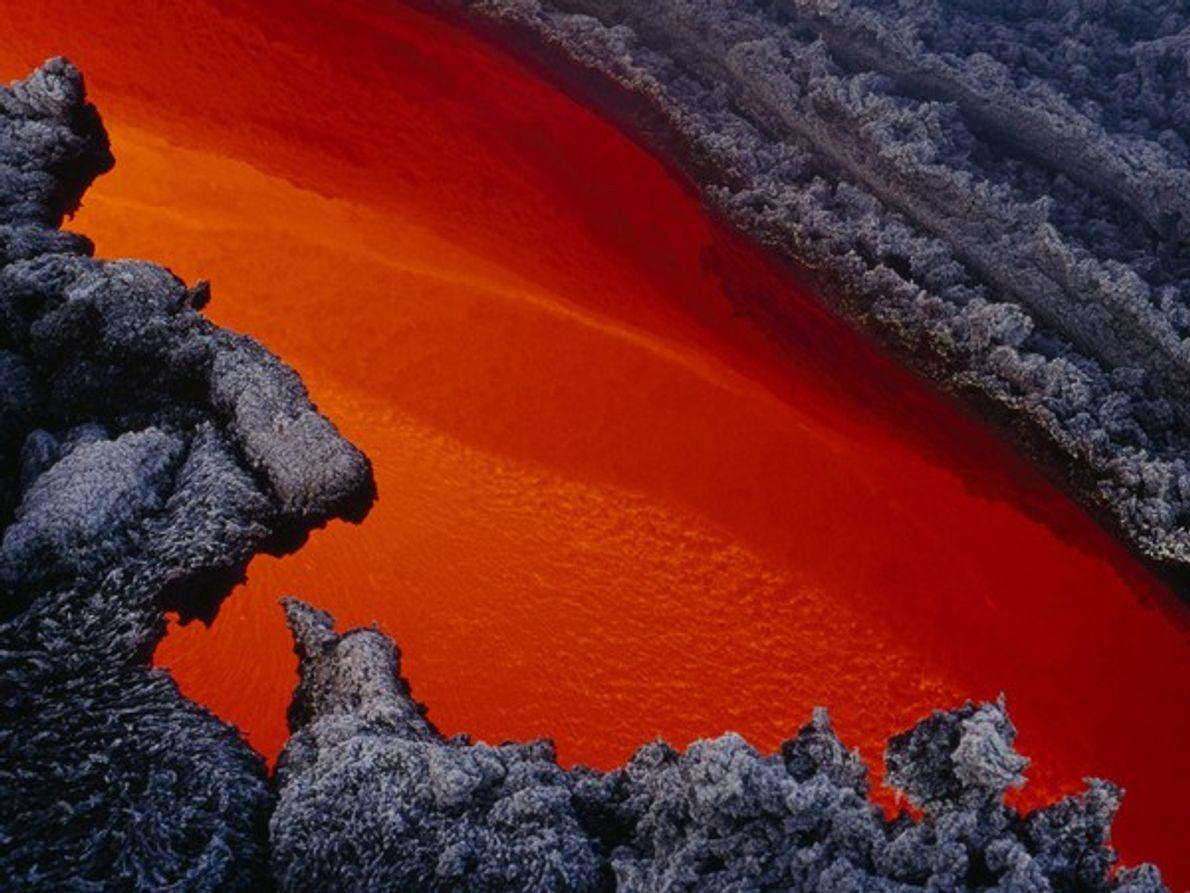 Lava caliente, Etna