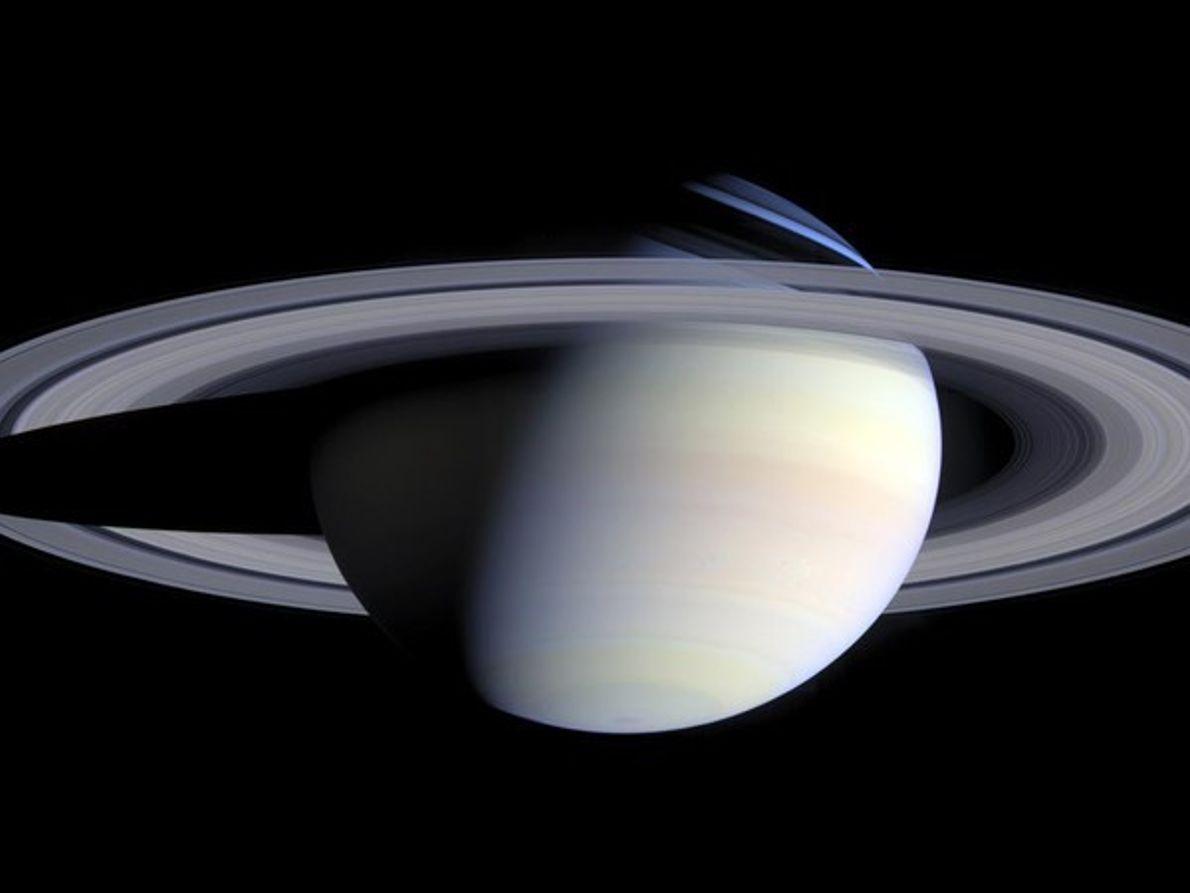 El mosaico de Saturno
