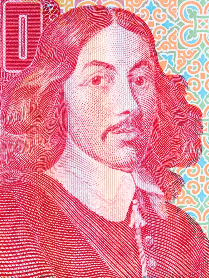 Jan van Riebeeck en un billete sudafricano