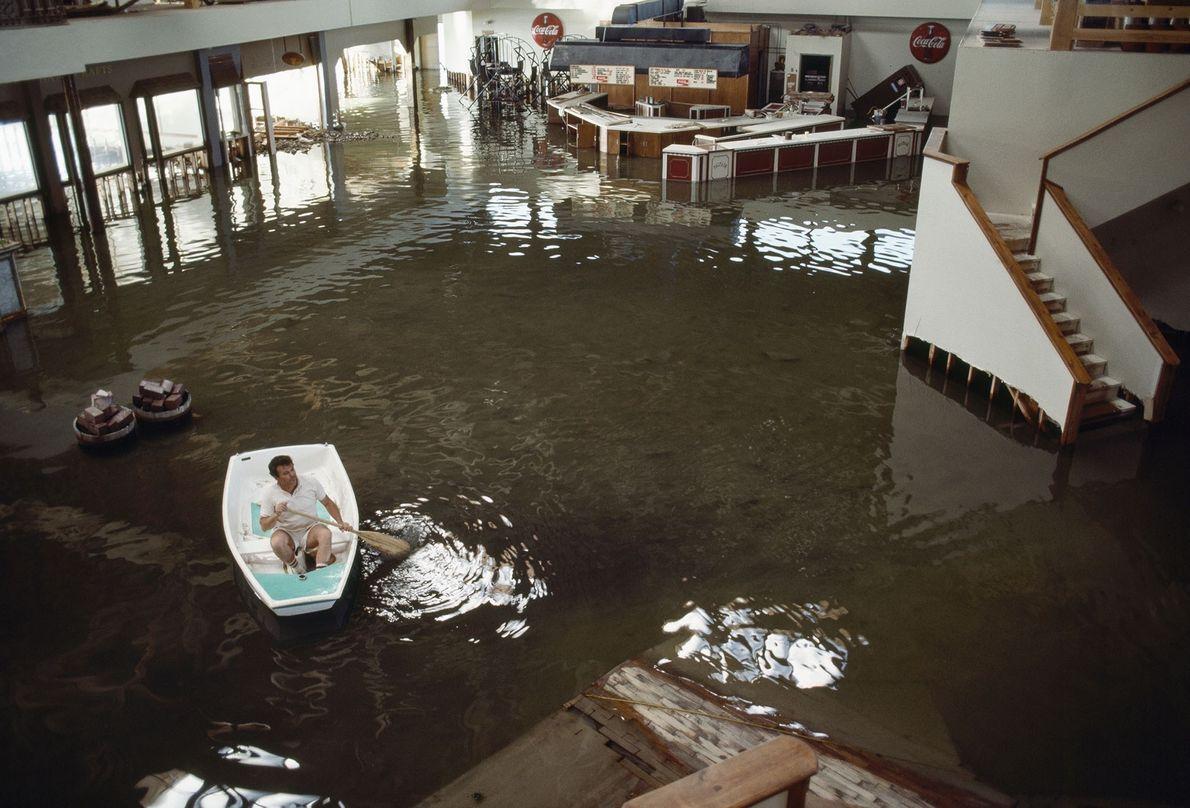 Hotel inundado en Utah