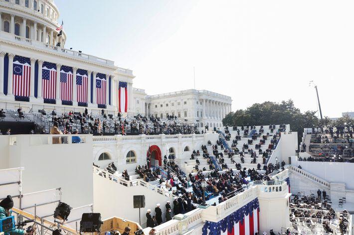 Biden da un discurso tras jurar el cargo
