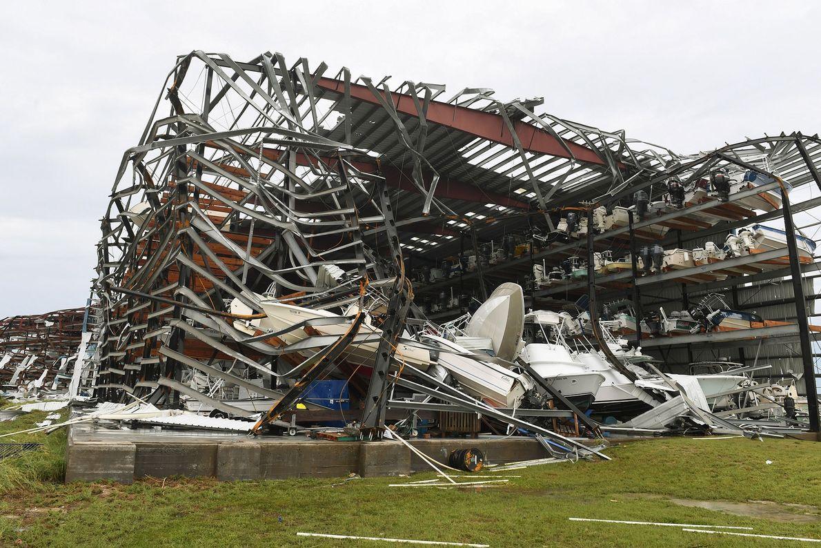 Instalación destruida