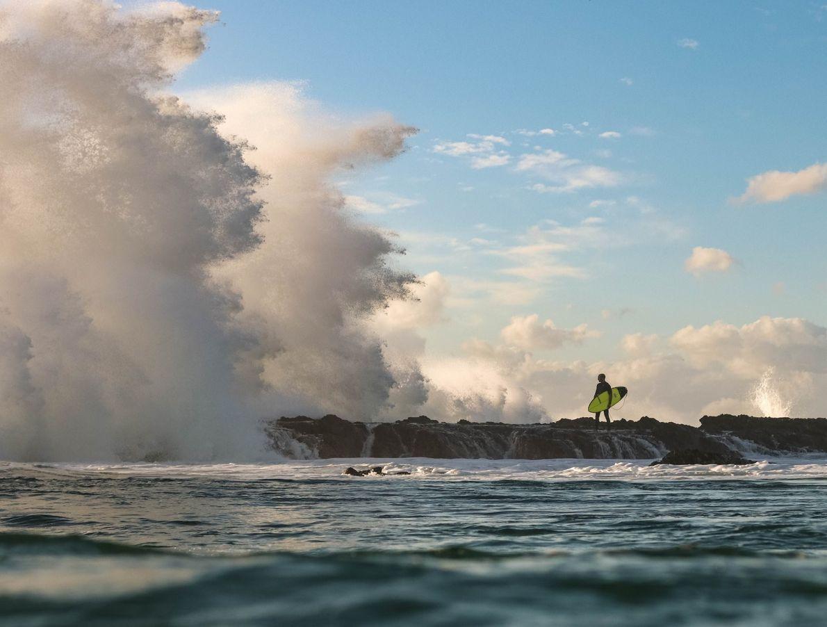 Un surfista en Australia