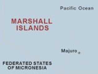 Mapa Islas Marshall