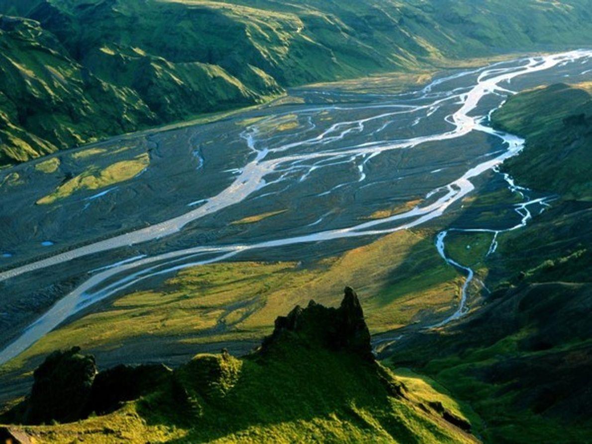 Valle Porsmork, Islandia