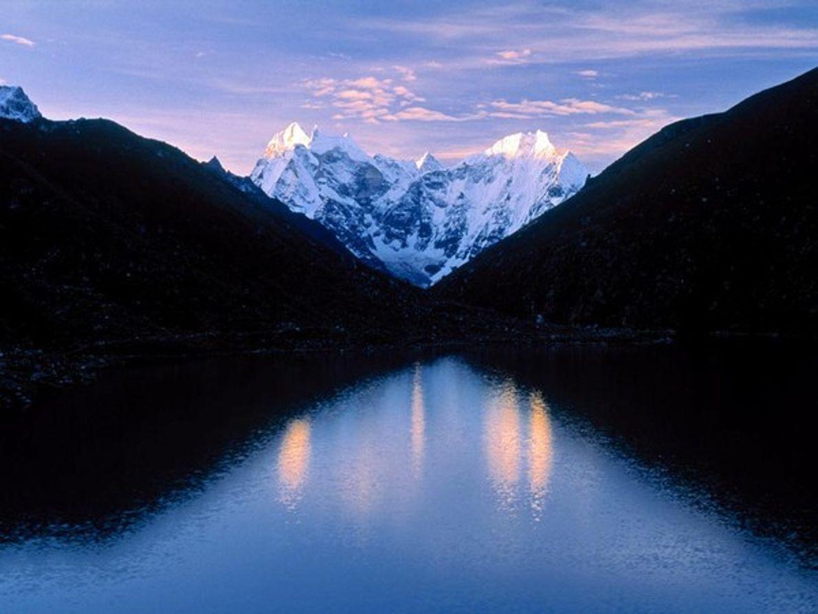El valle de Khumbu, Nepal