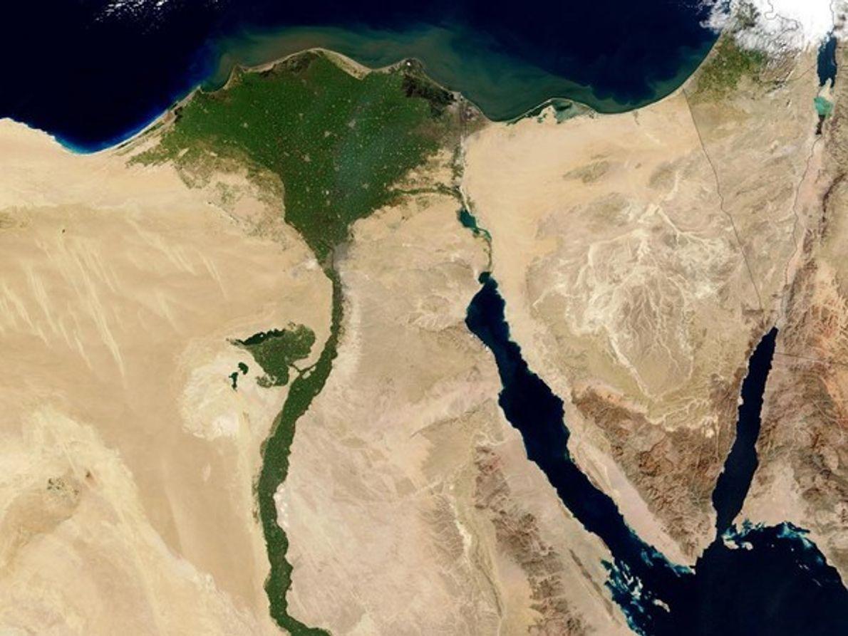 Valle del Nilo, Egipto