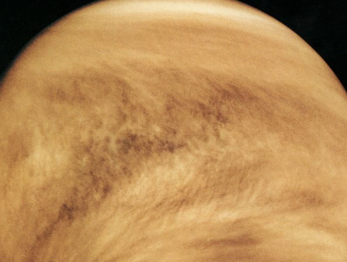 Primera imagen de Venus orbitando