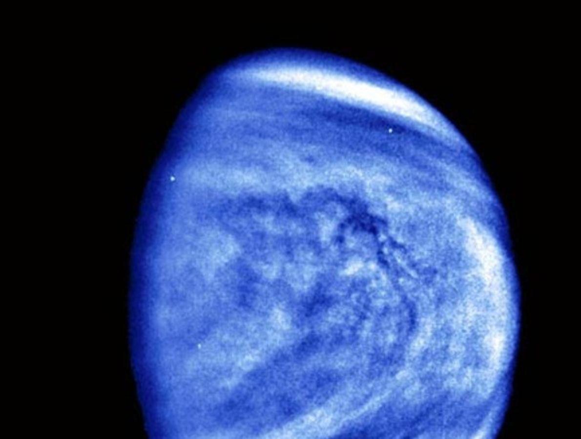 Los patrones de nubes de Venus