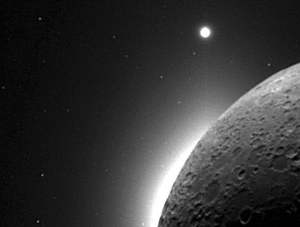 Luna, Venus y la Tierra