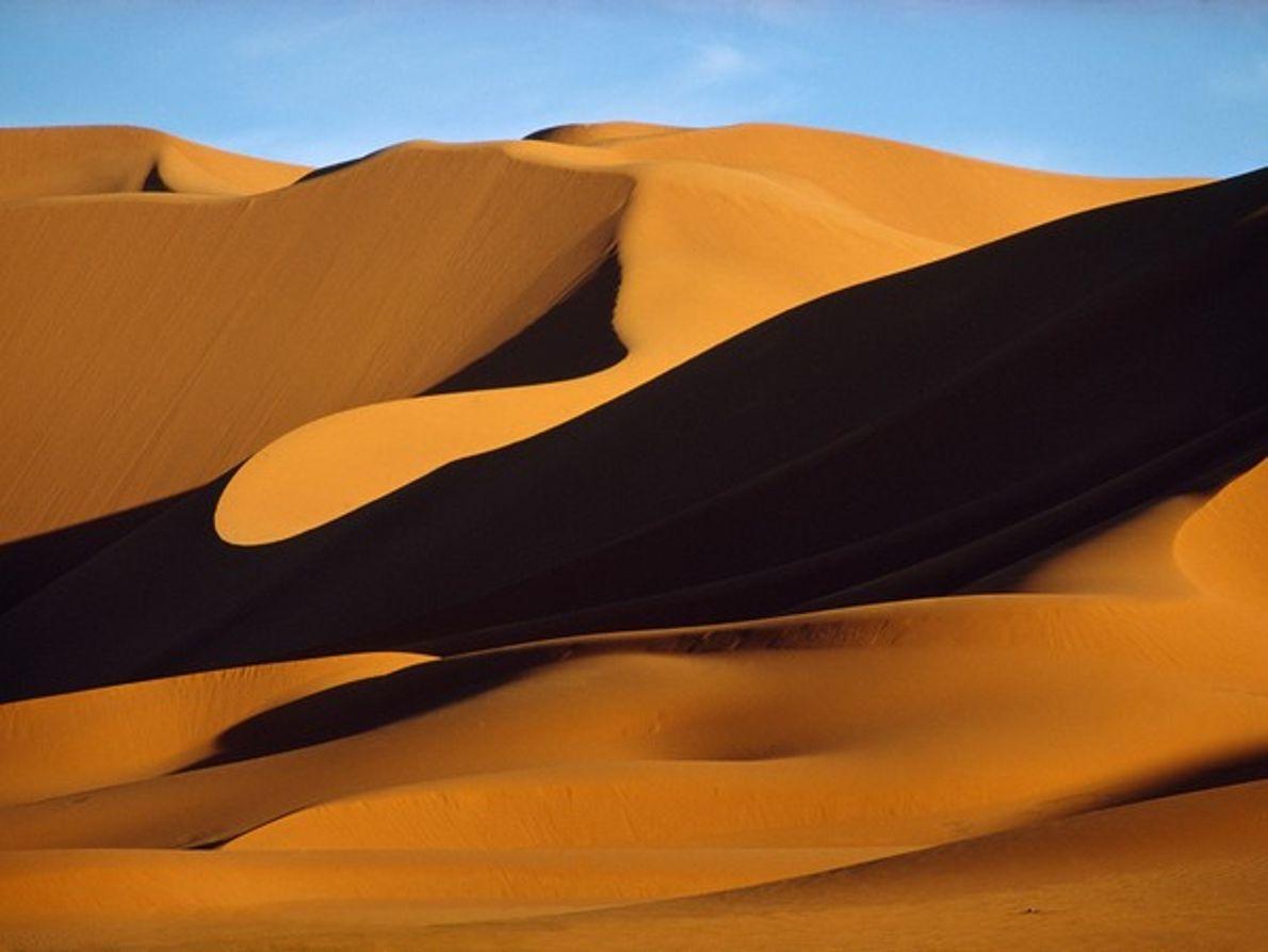 Dunas de arena del Sahara